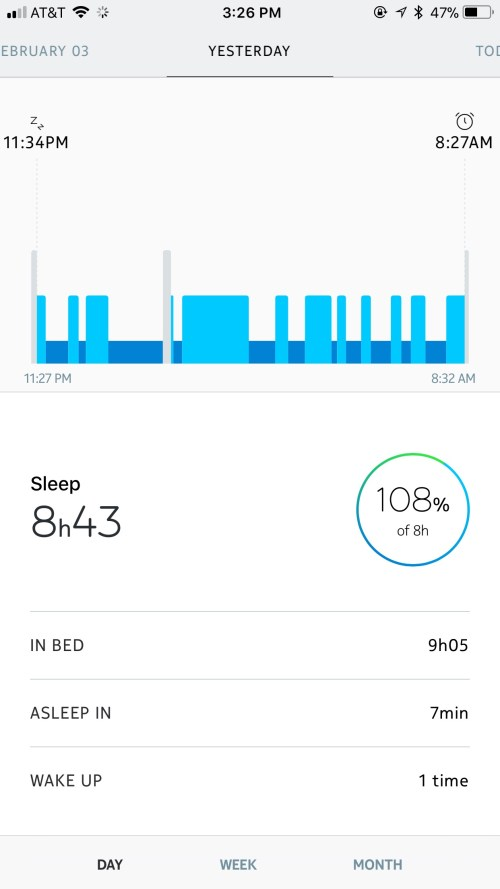Sleep with Health Mate App