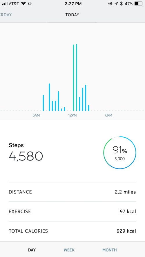 Steps with Health Mate App