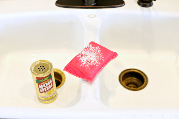 Remove Stains from Bathtub with Bon Ami