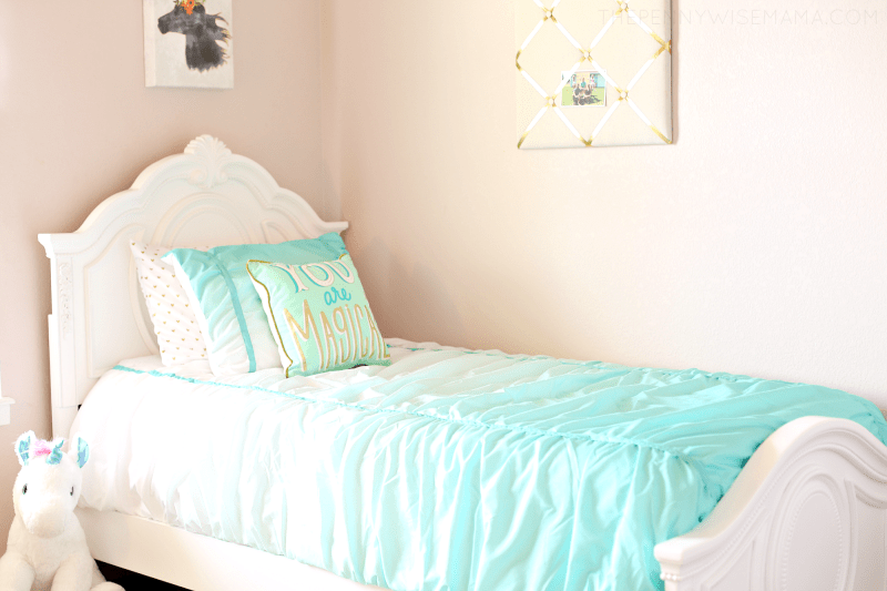 Magical Girls Room - Jessica White Bed from American Furniture Warehouse