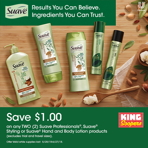 Suave Green Products Coupon