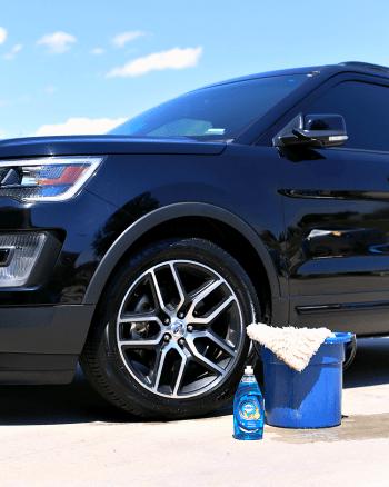 Washing Car with Dawn Dish Soap