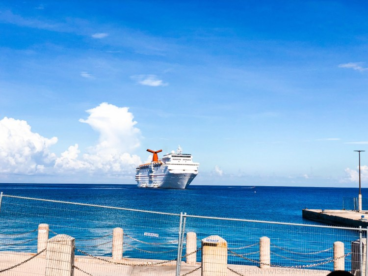Carnival Paradise in Grand Cayman