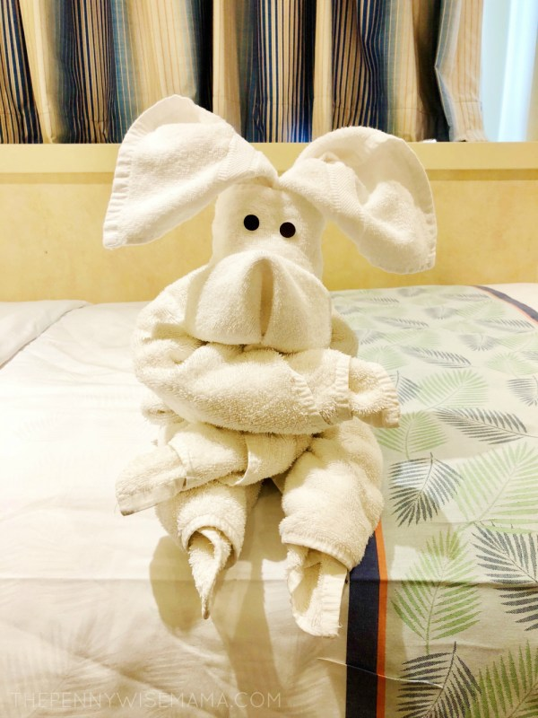Carnival Cruise Towel Animal
