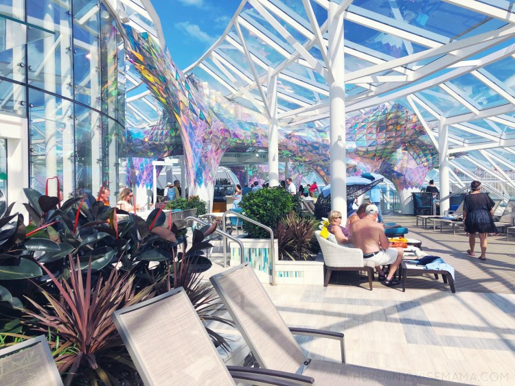 Adults-Only Area - Royal Caribbean Symphony of the Seas