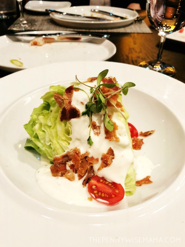 Royal Caribbean Symphony of the Seas - Chops Grille - Wedge Salad