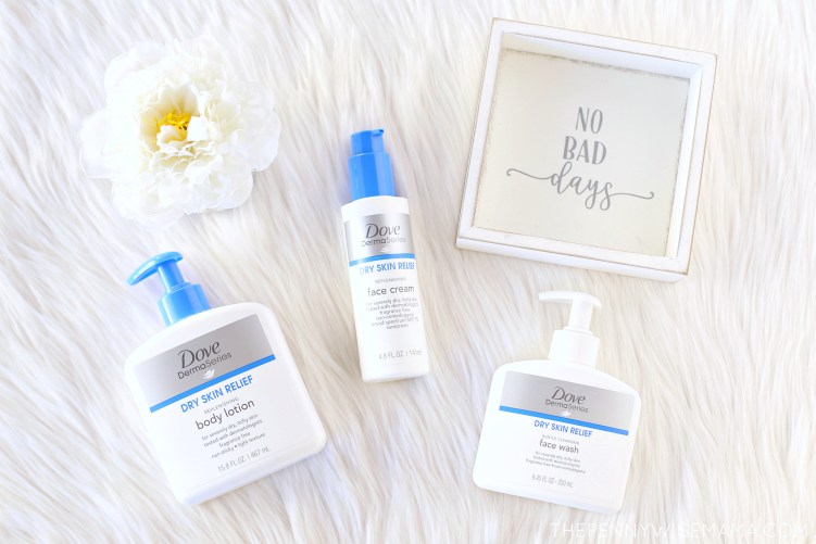 Dove DermaSeries Skincare Products