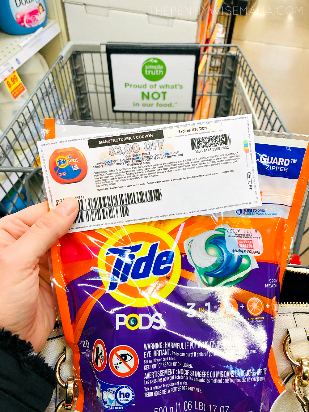 Save 3 On Tide Pods Laundry Detergent Printable Coupon The Pennywisemama