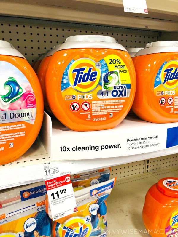 $3 off Tide Detergent Coupon
