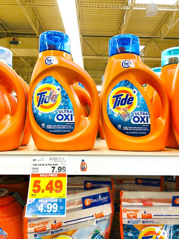 $3 off one Tide Detergent Coupon