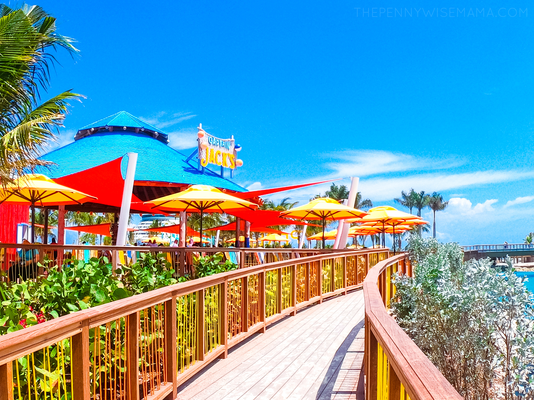 Captain Jack's at Perfect Day at CocoCay