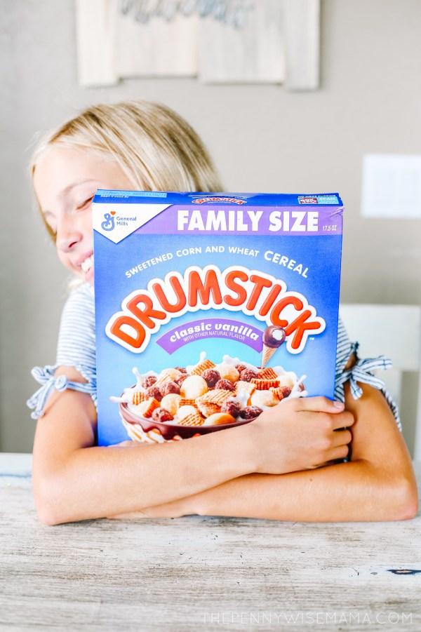 New Drumstick Cereal Classic Vanilla