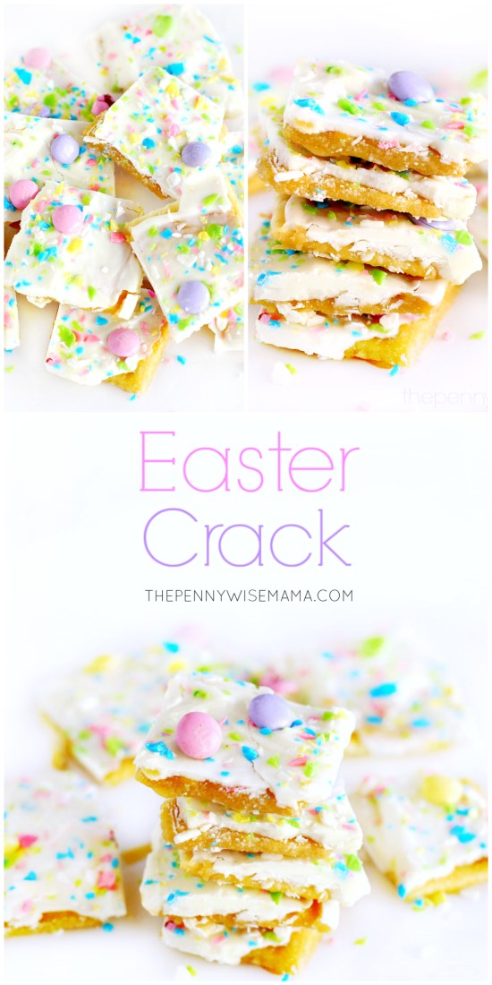 Easter Crack Saltine Toffee Recipe