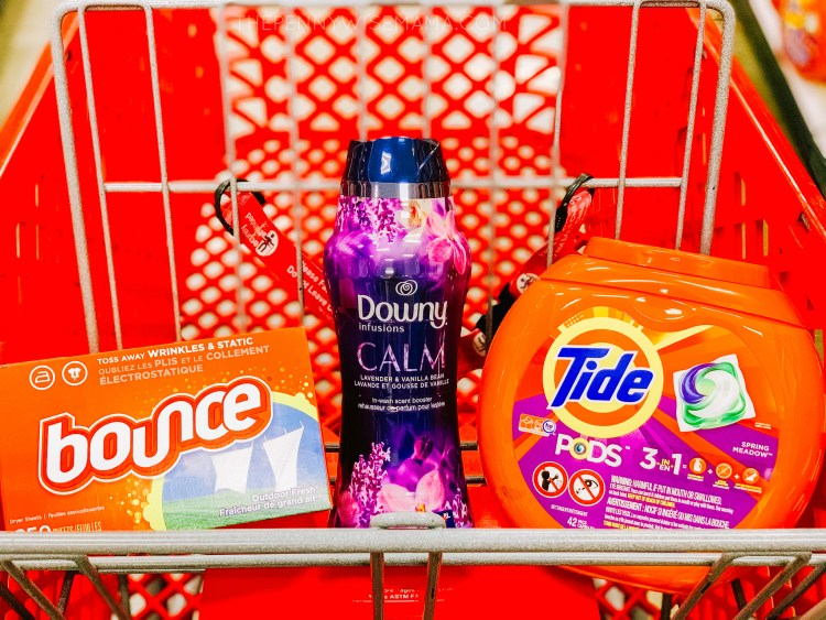 Get a Target Gift Card when you buy Tide, Bounce, Downy at Target