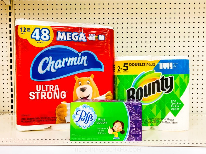 P&G The Inner Circle: Save on Charmin, Bounty, Puffs at Target