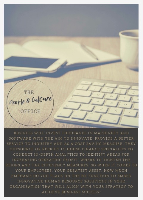 Invest in HR| The People & Culture Office