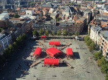 The People's Canopy in Leuven, Belgium