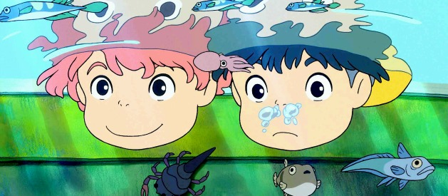 Watch Hayao Miyazaki's PONYO on the cliff  New Trailer