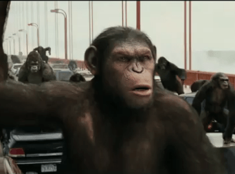 Comic Con RISE OF THE PLANET OF THE APES Teaser Trailer