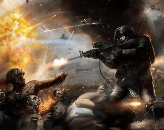 New Images Appear For Brad Pitt in WORLD WAR Z