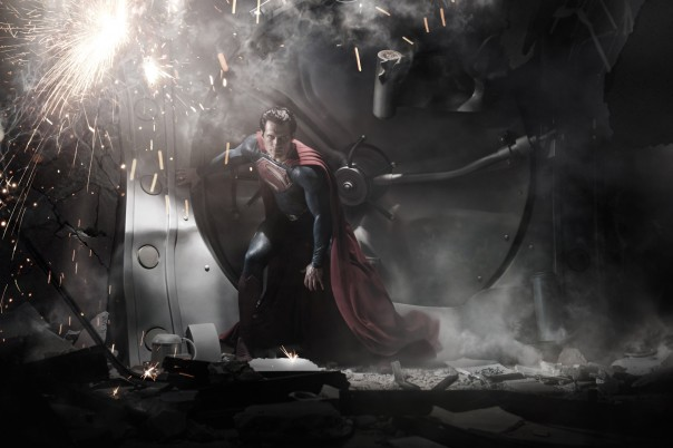First Look: Man of Steel