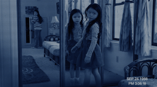 Bloody Mary, Bloody Mary, Bloody…..Watch This New Clip From Paranormal Activity 3!