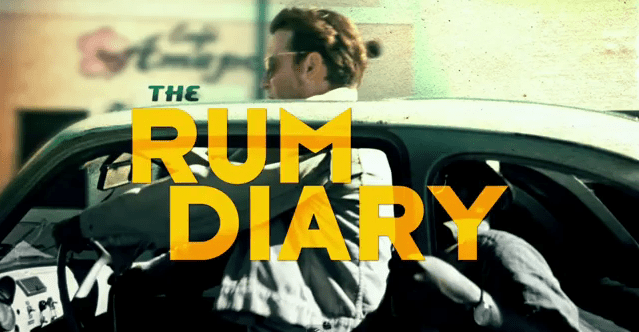 New Clip & Date Change For UK Release Of The Rum Diary