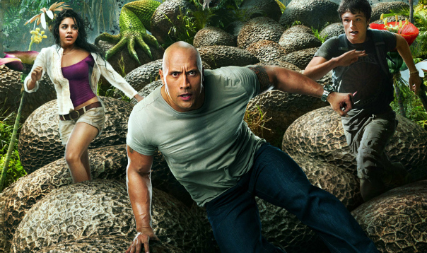 """""""Can You Smell What The Rock Is Cooking?"""" Read DVD Review of JOURNEY 2 THE MYSTERIOUS ISLAND"""