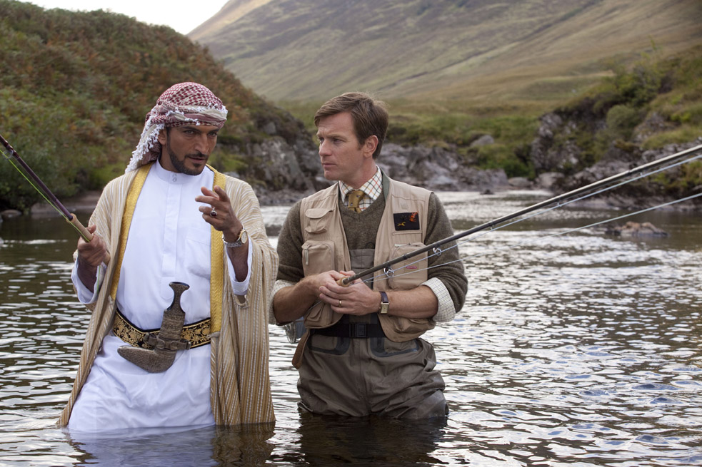 First Trailer For Salmon Fishing In Yemen Starring Emily Blunt,Ewan McGregor