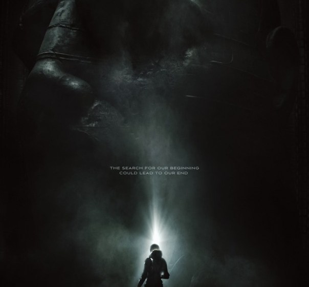 PROMETHEUS Get's It's Official First Poster