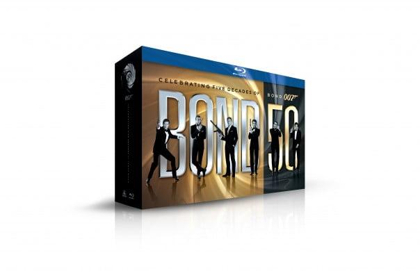 All 22 Bond Films In 50th Anniversary Blu-ray Boxset
