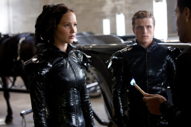 The First Clip For THE HUNGER GAMES Shows Katniss Demands Their Attention