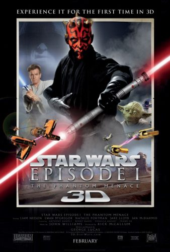Competition: Win tickets to a preview of Star Wars Episode I: The Phantom Menace 3D