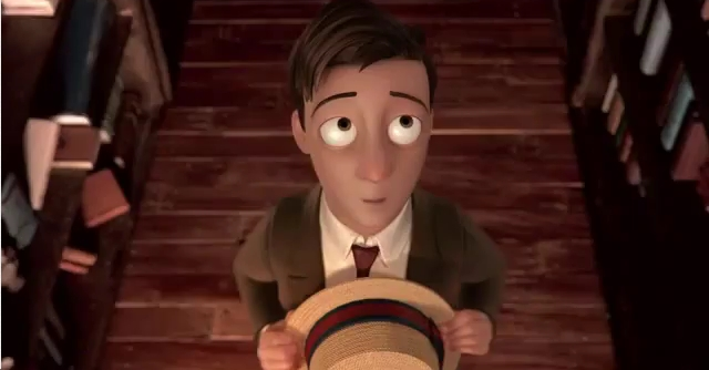 Watch The Oscar Winning Animated Short THE FANTASTIC FLYING BOOKS OF MR. MORRIS LESSMORE