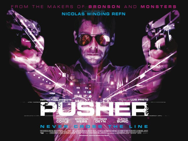 First UK Poster For Richard Coyle's PUSHER