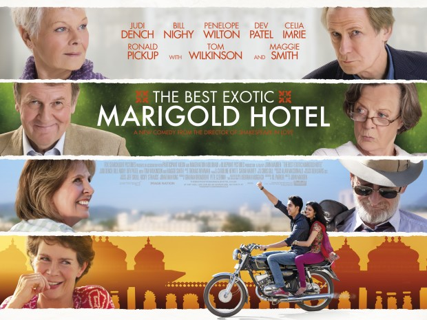 Film Review: THE BEST EXOTIC MARIGOLD HOTEL