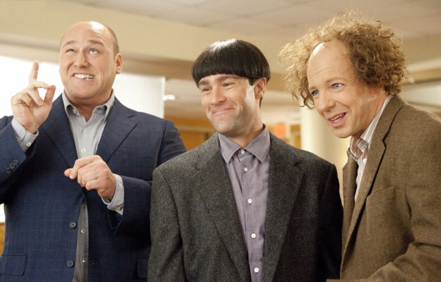 Should Have Left Them On The Door Step..2nd New UK THREE STOOGES Trailer