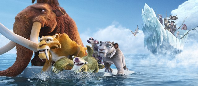 Ice Age 4: Continental Drift Leicester Square Cool On Saturday 26th May