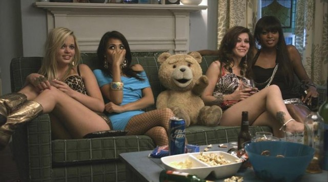 """Lets Sing The Thunder Song!"" – Watch Seth MacFarlane's TED Red Band Trailer"