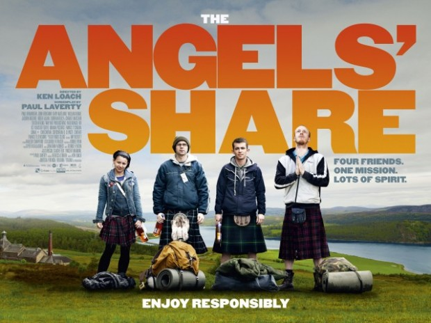 """Why Did They Stick It Up There?"" THE ANGELS' SHARE Review"