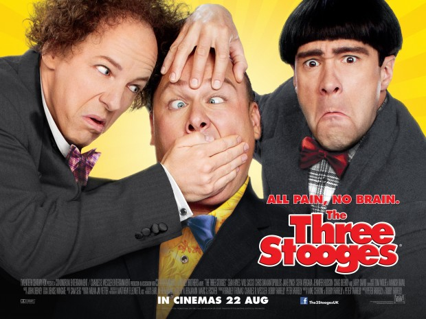 Excruiating Dreadful UK Trailer & Poster For THE THREE STOOGES