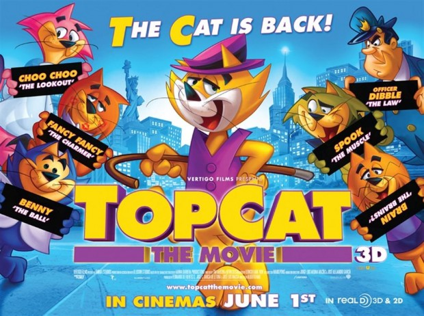 Competition: Win TOP CAT:THE MOVIE Goodie Packs