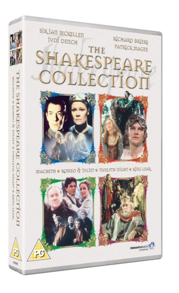 Win The William Shakespeare Collection On DVD