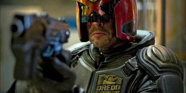 He Is The Law And This Is His Motion Poster, Call him DREDD!