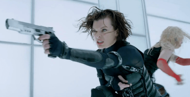 She Chewed Gum And Kicked Zombie Ass Full Trailer For RESIDENT EVIL: RETRIBUTION