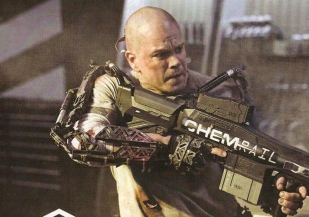 Matt Damon Is A Skinhead! First Image From ELYSIUM