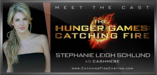 Stephanie Leigh Schlund Casted As Cashmere in The Hunger Games