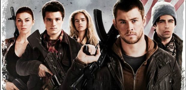 Wolverines Assemble For First Red Dawn Remake Poster