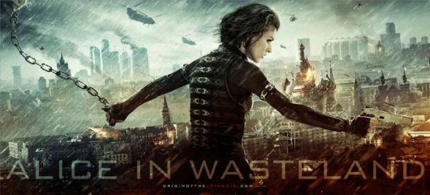 Alice In Wasteland, 2 New TV Spots For Resident Evil: Retribution