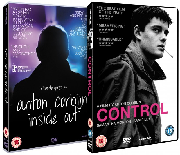 Win Anton Corbijn:Inside Out & Control DVDs